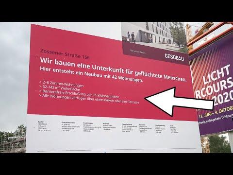 Berlin. 42 Wohnungen (NEUBAU) für Geflüchtete. Jeannette Auricht AfD 02.07.2020