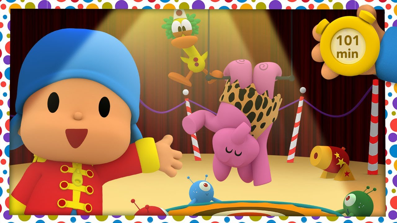 🎪  POCOYO AND NINA - Circus Show [101 minutes] | ANIMATED CARTOON for Children | FULL episodes