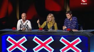 Лариса Матенко «Две звезды»«Україна має талант» Выпуск 5