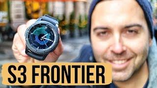 Samsung Gear S3 FRONTIER è lo smartwatch da battere | #RECENSIONE ITA