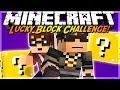 Minecraft Lucky Block CHALLENGE MODDED ROBOT ARMY