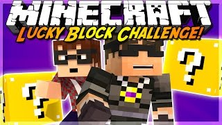 Minecraft Lucky Block CHALLENGE! MODDED ROBOT ARMY!