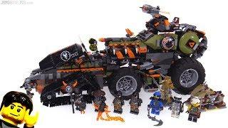 LEGO Ninjago Dieselnaut set review! 70654