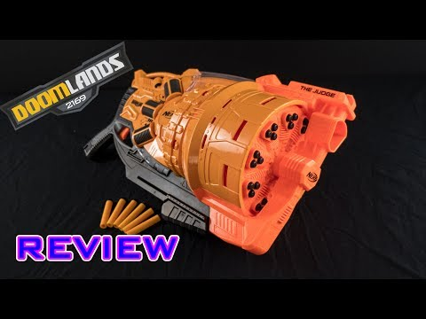 [REVIEW] Nerf Doomlands The Judge   Unboxing, Review, & Firing Demo