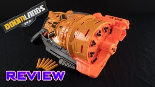 [REVIEW] Nerf Doomlands The Judge   Unboxing, Review, & Firing Demo Video