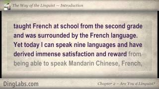 02: The Linguist by Steve Kaufmann - Introduction - Are You a Linguist?