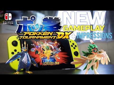 Download Youtube: Pokken Tournament DX on Nintendo Switch - New Gameplay + First Impressions (1080p 60fps)