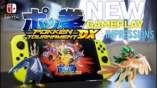 Pokken Tournament DX on Nintendo Switch - New Gameplay + First Impressions (1080p 60fps)