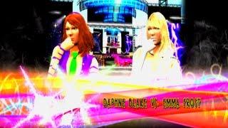 Daphne Blake vs Emma Frost - Harlot Tourney Rd 1 - WWE 13