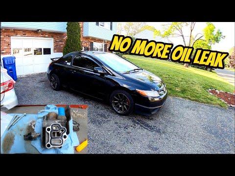 Honda k20 k24 Oil leak Fix DIY