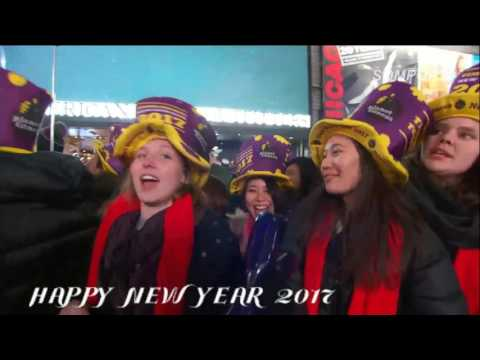 New Year's Eve 2017 Times Square New York Countdown 1 Jan 2017