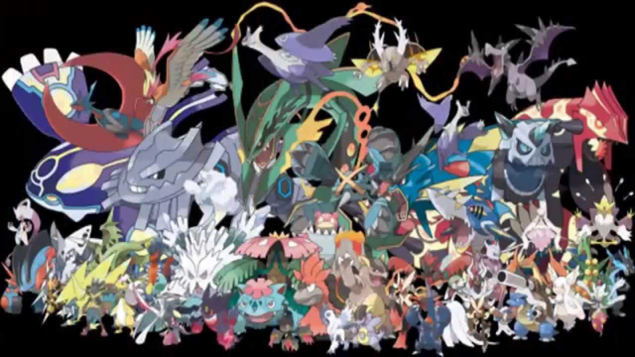 todas las mega evoluciones shiny pokemon omega ruby y
