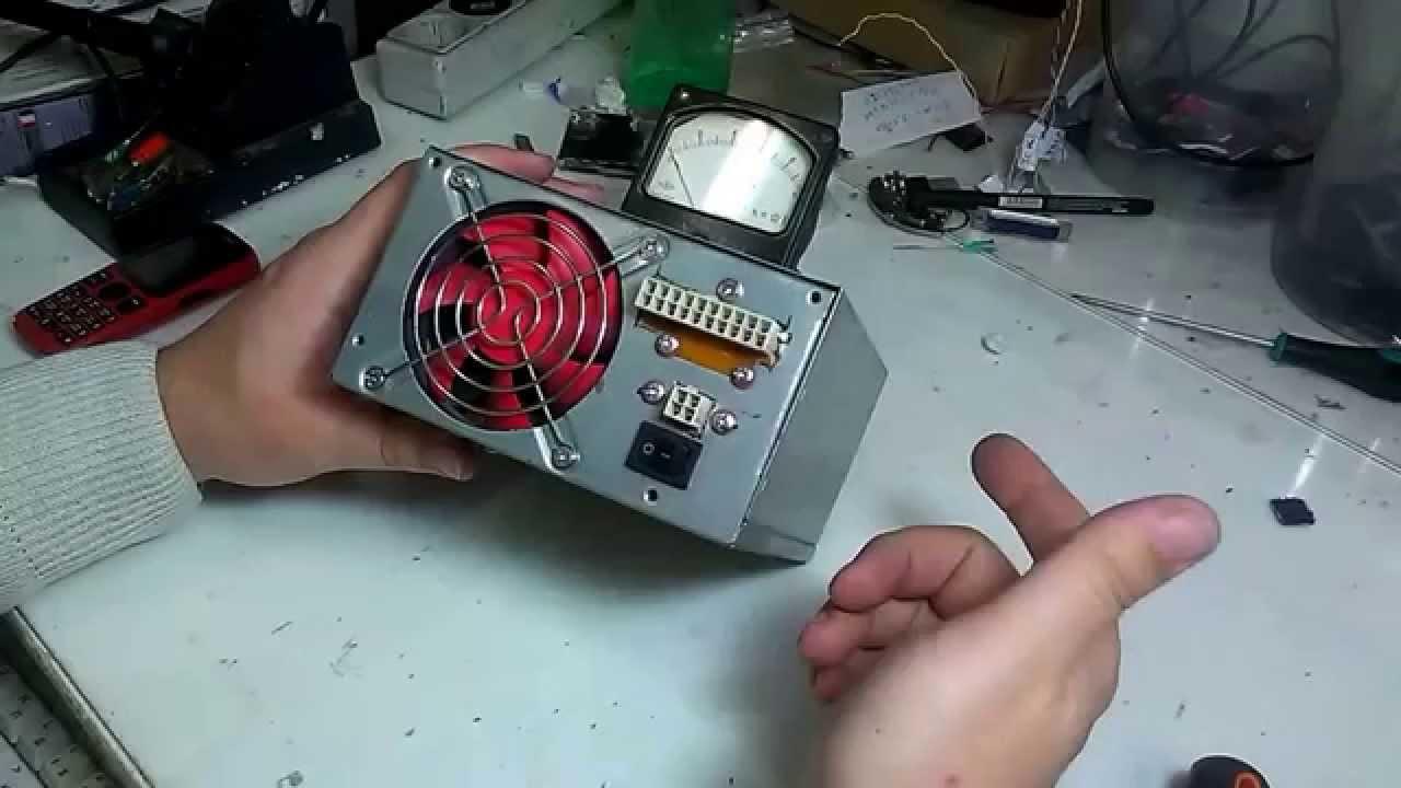 Тестер блока питания компьютера своими руками 543