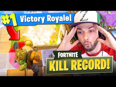 *NEW* KILL RECORD in Fortnite: Battle Royale!