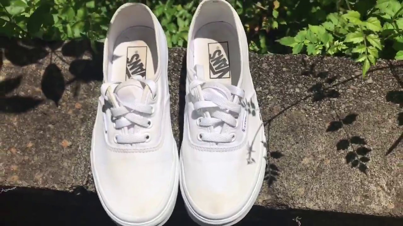 white shoes without turning them yellow
