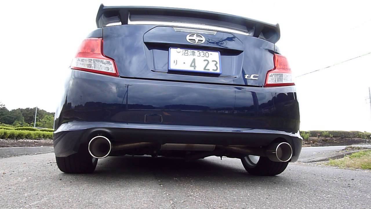 2011 scion tc dual exhaust w trd pai ver 2 youtube. Black Bedroom Furniture Sets. Home Design Ideas