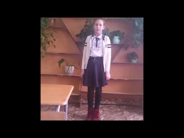 Изображение предпросмотра прочтения – ДарьяУшанина читает произведение «Красною кистью...» М.И.Цветаевой