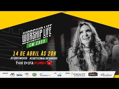 Live Aline Barros - Worship Life em Casa | #FiqueEmCasa e Cante #Comigo - #CanteComAlineBarros