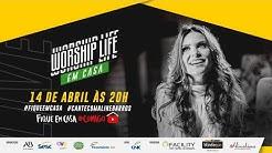 Live Aline Barros - Worship Life em Casa   #FiqueEmCasa e Cante #Comigo - #CanteComAlineBarros