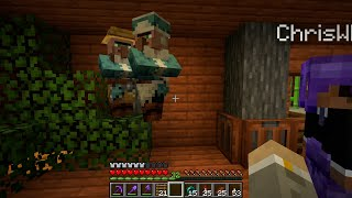VILLAGERS FLYTTAR NER I RAVINEN | Minecraft Let's Play S6E19