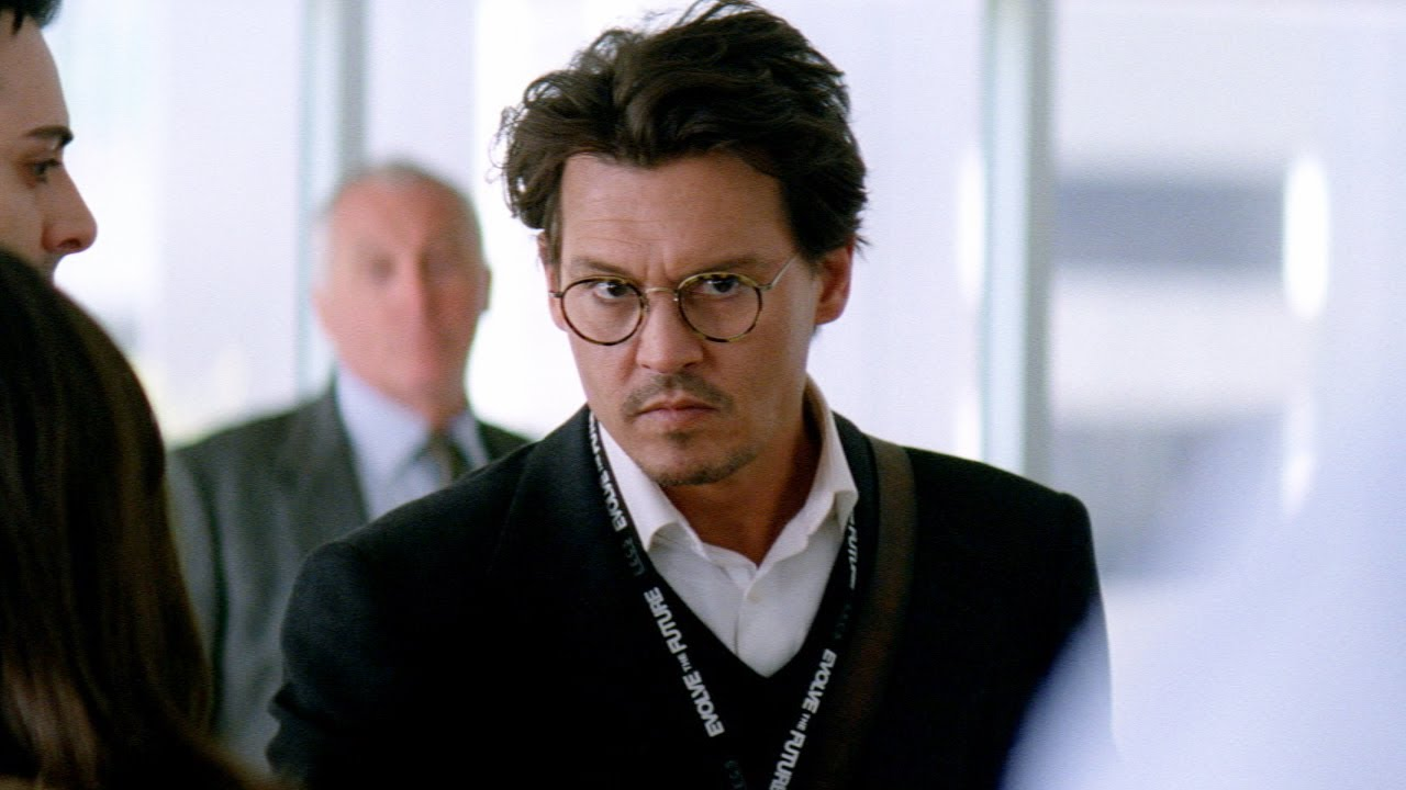 Transcendence Trailer 2 Official - Johnny Depp - YouTube