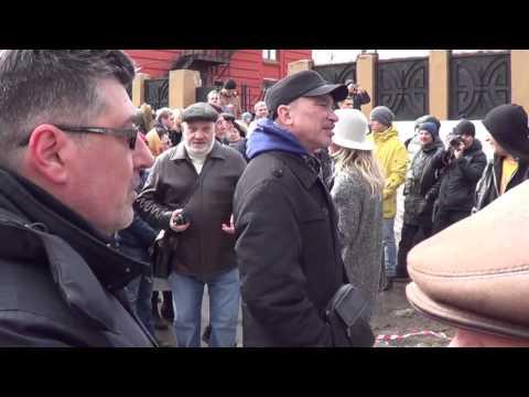 Выступление и задержание Саранцевой Марины Николаевны на митинге в Самаре 26 марта