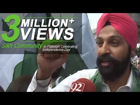 Sikh Community in Pakistan Celebrating Independence Day - 14 August 2017 - 92NewsHDPlus
