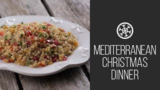 Israeli Couscous || Mediterranean Christmas Dinner || Christmas & New Tear 2015 Recipes