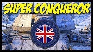 ► SUPER CONQUEROR, New British Heavy - World of Tanks Patch 9.20.1 Update