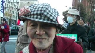 3分ビデオ「奪われた声2・秘密保護法」西中誠一郎 西中誠一郎 検索動画 7