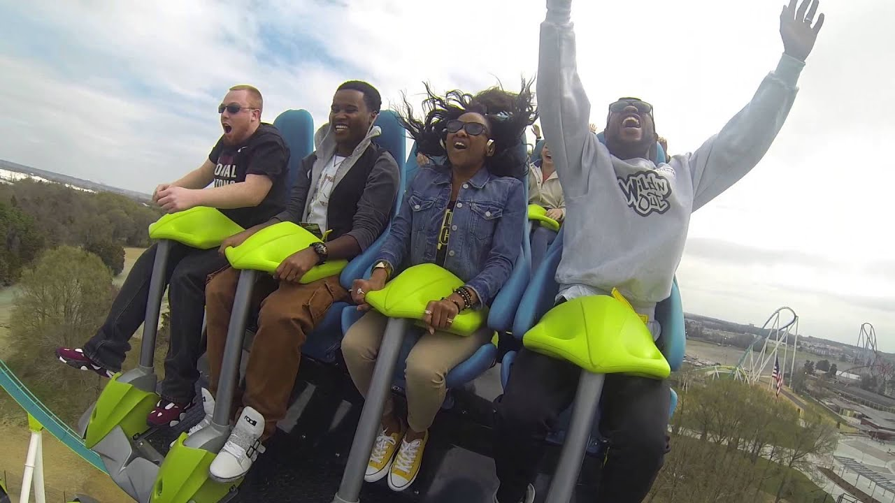 3 live crew 102 jamz morning show rides fury 325 at