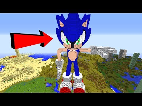 MEGA SONIC TAKES OVER MINECRAFT!