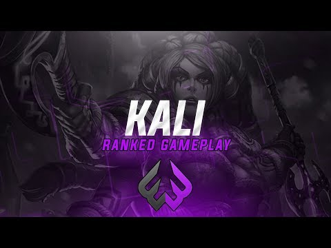 Kali: THIS IS MY FAVORITE BUILD! - Smite