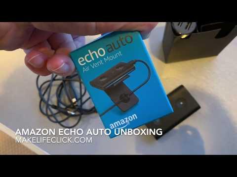 Amazon echo Auto Unboxing