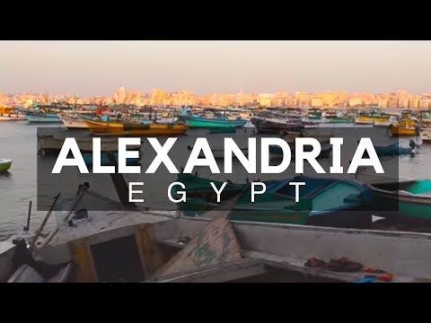 The Mediterranean Port City - Alexandria, Egypt
