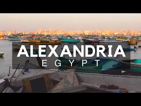 The Mediterranean Port City - Alexandria, Egypt