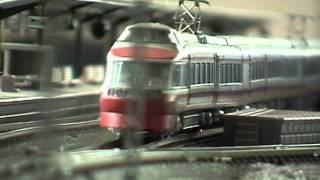 【Nゲージ】 小田急電鉄 ロマンスカー 7000LSEと10000HiSE