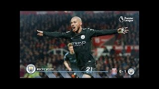Video Gol Pertandingan Stoke City vs Manchester City