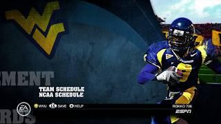 SEC CHALLENGE -- WEST VIRGINIA --NCAA FOOTBALL 10 -- XBOX360