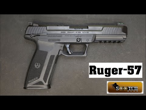 Download Ruger 57 Pistol Review   5.7x28mm