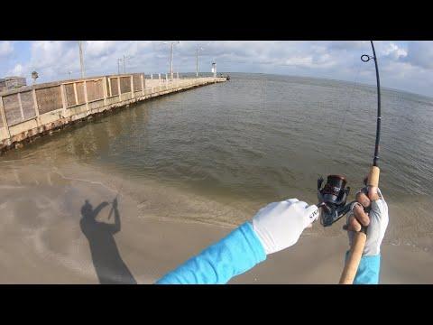 Hit Or Miss? Fishing Surfside Freeport Jetty/ San Luis Pass TX 5/19