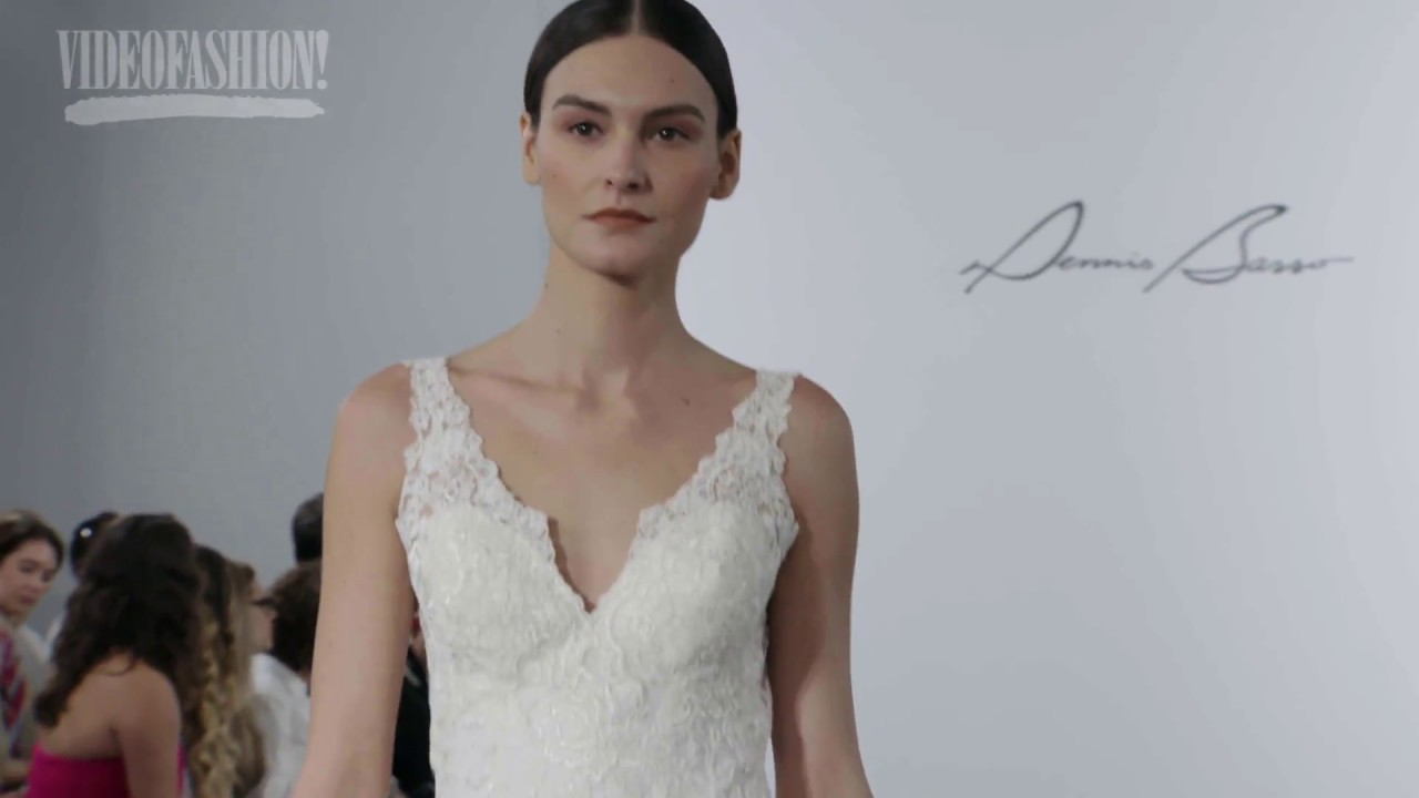 Best of Dennis Basso Bridal | Fall 2018 - YouTube