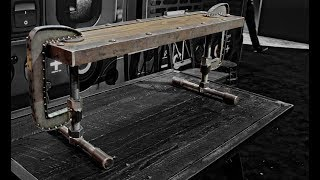Industrial C-Clamp bench For Lincoln Electric Fabtech Chicago