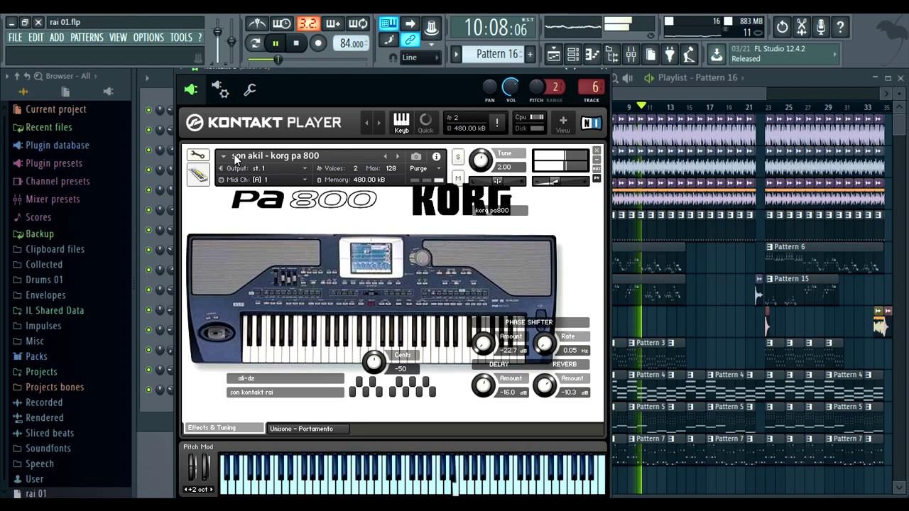 synthé rai pour fl studio 11