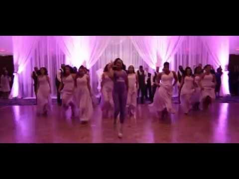 Surprise Bridal party Dance | Mr & Mrs Tavares Wedding