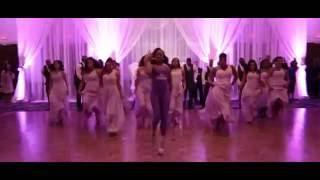 surprise bridal party dance mr mrs tavares wedding