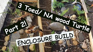 3-Toed/NA Wood Enclosure FINSIHED! PART 2!