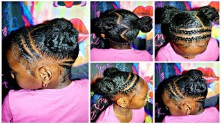 Quick & Easy Hairstyle | Children's Natural Hair Care