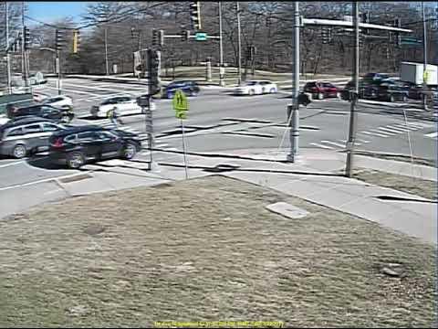 First Avenue vehicle vs. pedestrian, March 22, 2019.