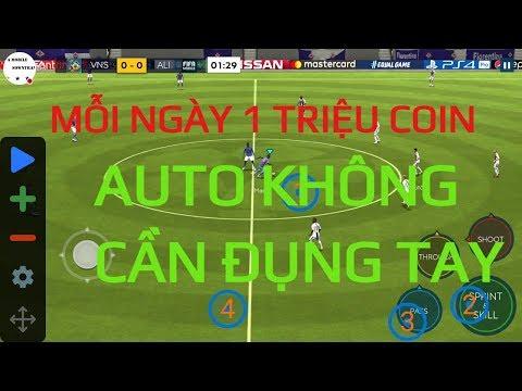 KIẾM 1 TRIỆU COIN DỄ DÀNG VỚI AUTO KO POINT || FIFA MOBILE SOWNTRAN
